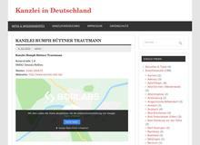 Kanzlei in Deutschland