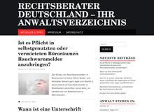 Rechtsberater Deutschland