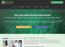 Coole & lustige WhatsApp Status Sprüche