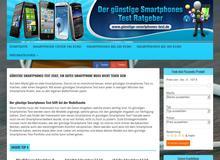 Günstige Smartphones Test