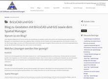 Geodatenverarbeitung und GIS