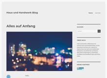 Haus und Handwerk Blog
