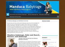 Manduca Babytrage ++ Test ++ Testsieger ++ Tipps++ Preisvergleich