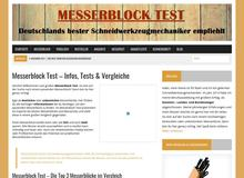 Messerblock Test