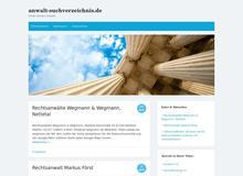 Anwalt-Suchverzeichnis