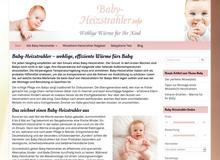 Baby-Heizstrahler – Wohlige Wärme für Ihr Baby