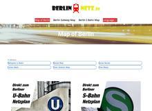 Berlin Bahn Netz – U Bahn Plan Berlin & S Bahn Plan Berlin