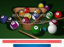 Billard kostenlos und ohne Anmeldung Online spielen