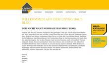 Der Living Haus Bau-Blog