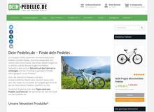 Pedelec Ratgeber Blog