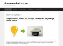 Dimmer Schalter
