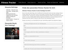 Fitnesstracker – Tracker & Co. im Vergleich und Test.