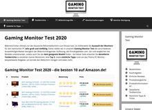 Gaming Monitor Test