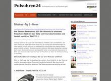 Pulsuhren24.eu – Ratgeber und Vergleiche zu Pulsuhren