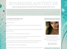 sunshineladytest.de tests gewinnspiele und mehr immer aktuell alle 1,2 tage aktualisiert