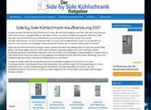 Amerikanische Kühlschrank Beratung auf Side-by-Side-Kuehlschrankguru.de