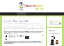 Smoothie Maker Test
