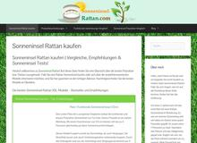 Sonneninsel Rattan Test