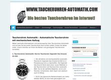 Taucheruhren Automatik – Die besten Taucheruhren im Internet!