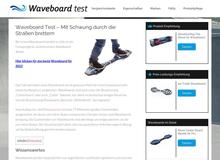 Waveboard Test