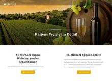 Die Weinliste