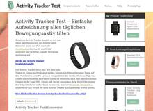 Activity Tracker Test