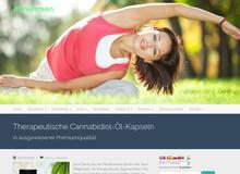 Therapeutische Cannabidiol-Öl-Kapseln