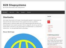 B2B Shopsysteme