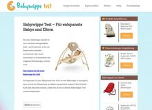 Babywippe Test