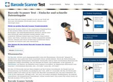 Barcode Scanner Test