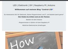 Control LED Blog – LED | Elektronik | DIY | Raspberry PI | Arduino