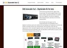 DAB Autoradio Test