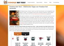 Fondue Set Test