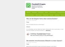 Fussball-Fragen