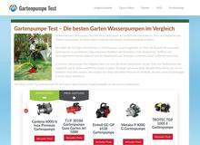 Gartenpumpe Test