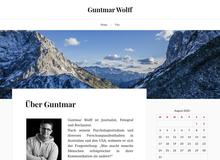 Guntmar Wolff Journalist   Autor