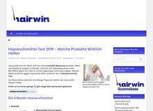 Hairwin- Gemeinsam gegen Haarausfall