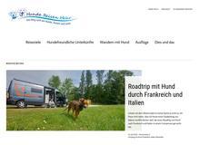 ITB 2016 – Reisen mit Hund sind im Trend