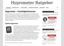 Hygrometer Ratgeber
