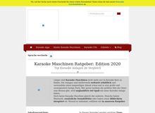 Karaoke-Welt