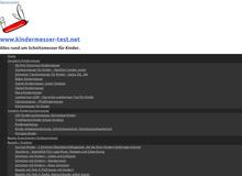 Kindermesser-Test