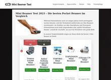 Minibeamer Test