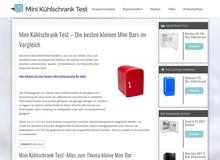Minikühlschrank Test