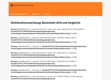 Multifunktionswerkzeug:Test und Ratgeb