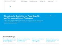 Poolroboter und Poolsauger