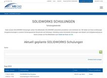 SOLIDWORKS Blechkonstruktion