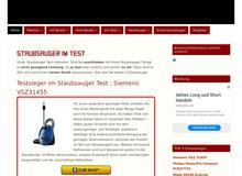 Staubsauger Test 2015/2016