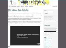 Walter Bs Textereien