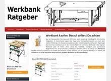 Werkbank Infos – die wichtigsten Hersteller und Ausführungen