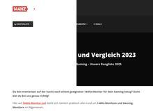 144hz Monitor Test & Vergleich